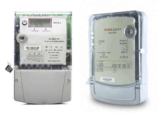 Electricity meter and data concentrator