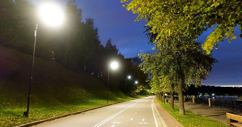 Smart street lighting