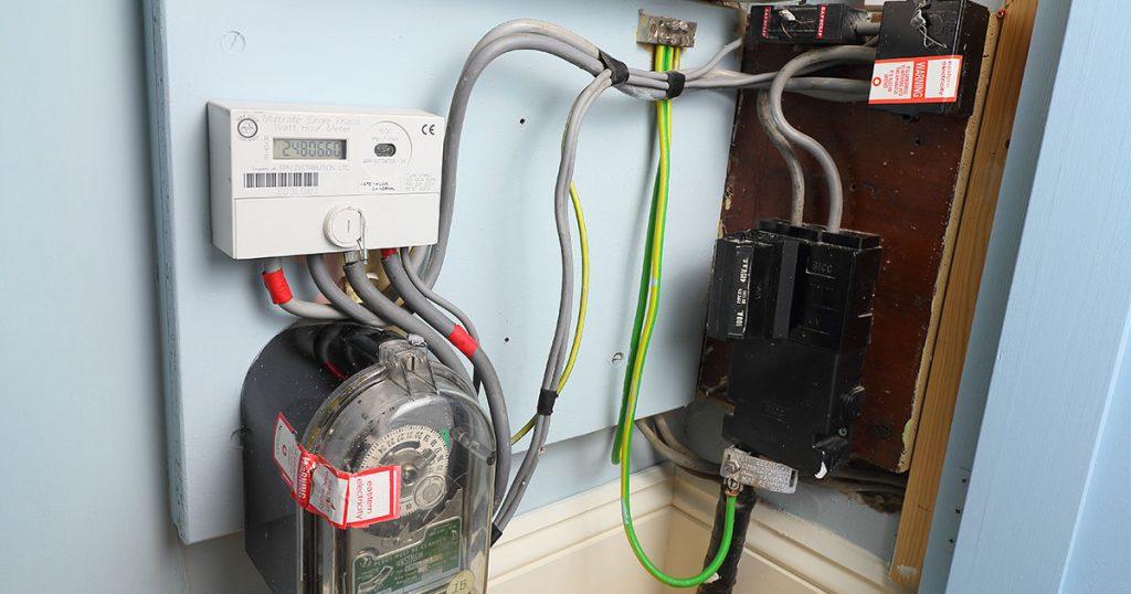 Economy 7 electricity meter